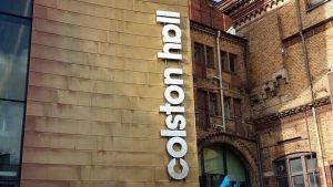 Colston Hall proofreading fail